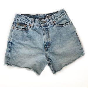 Vintage Calvin Klein Denim Jean Cutoffs Shorts 28